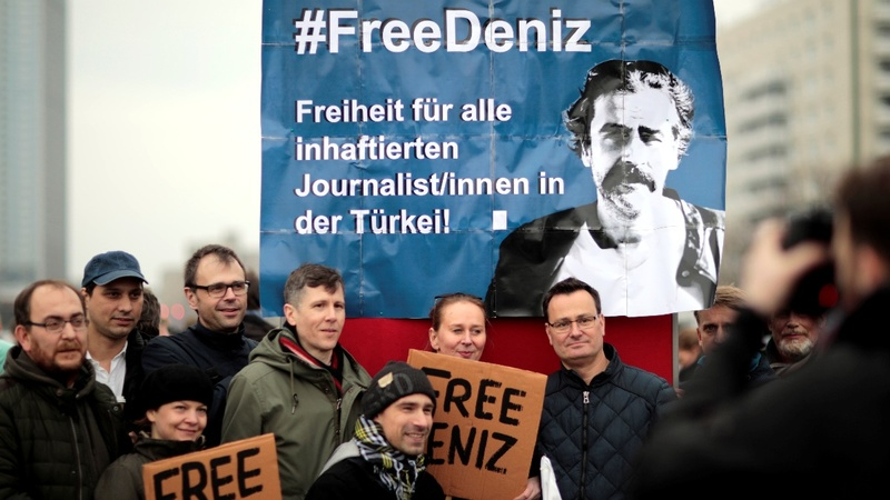 Turkey jails German journalist in coup crackdown