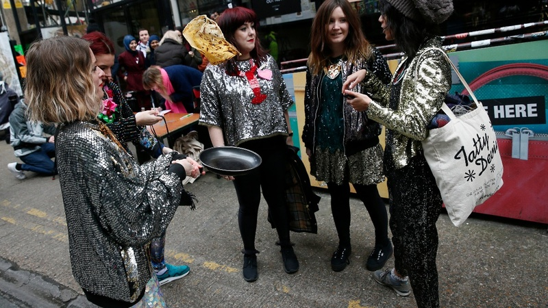 INSIGHT: London's annual pancake race