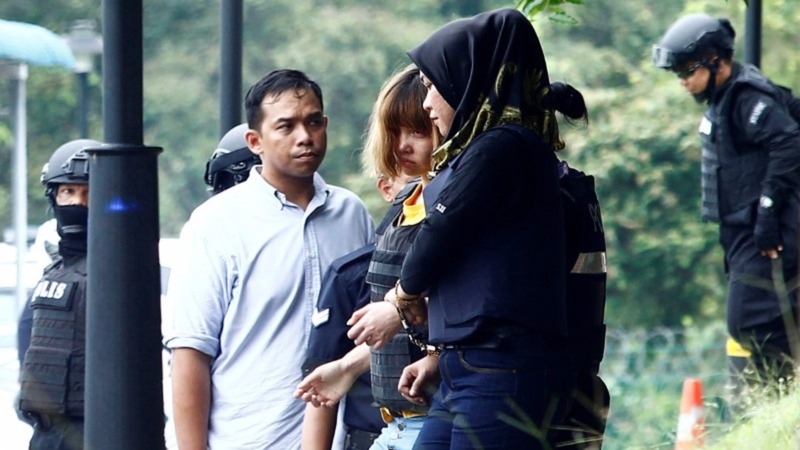 Two women charged with murder of Kim Jong Nam