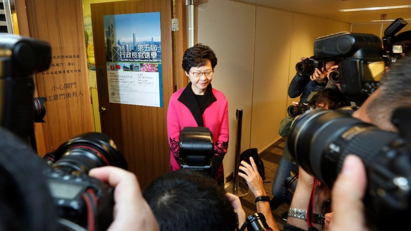 Walking the line with China in Hong Kong's elections