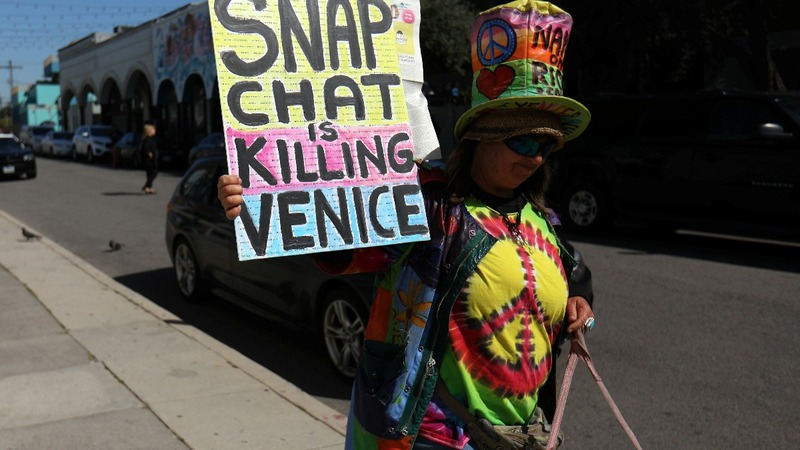 Why some of Snap Inc's LA neighbors want them out