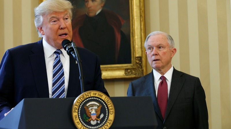 Dems demand Sessions quit over alleged Russia contacts