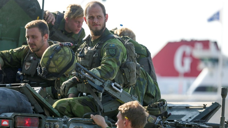 Sweden to reintroduce military conscription