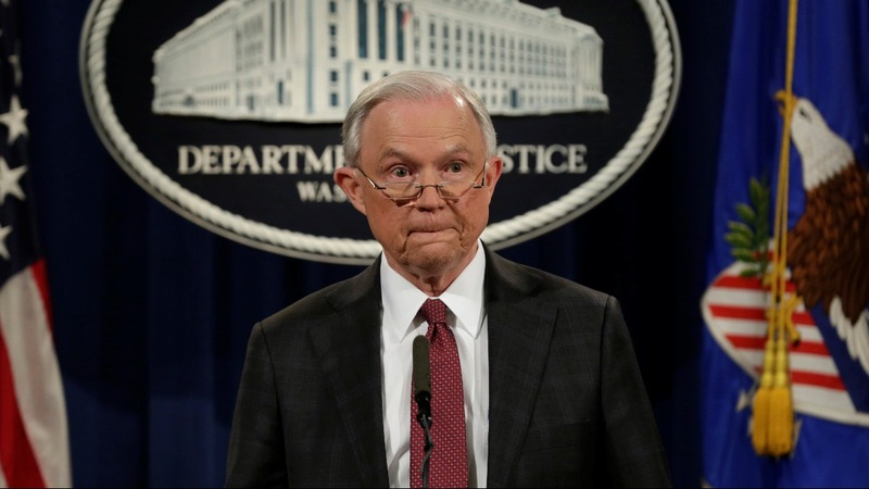 Sessions recuses himself from any Russia probe