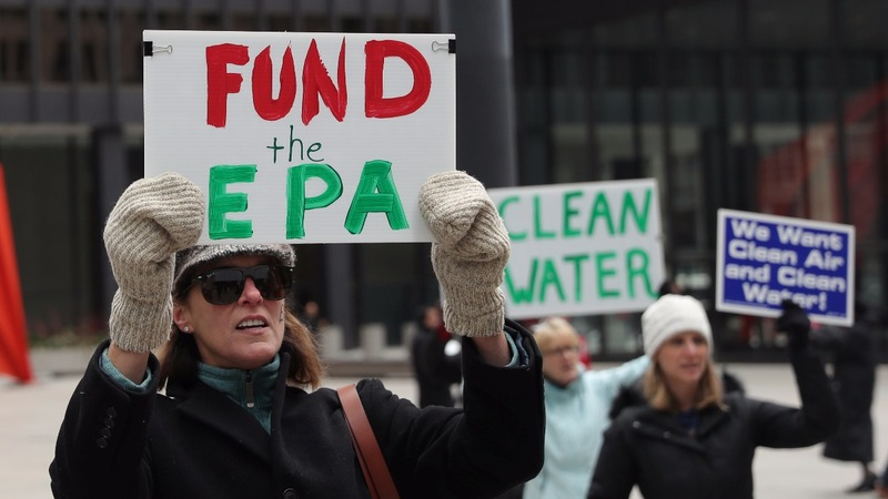 Trump proposing to slash a quarter of EPA's budget