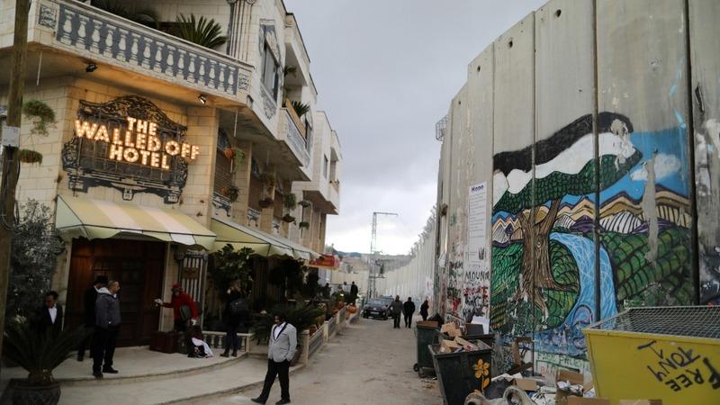 Artist Banksy opens a Bethlehem hotel