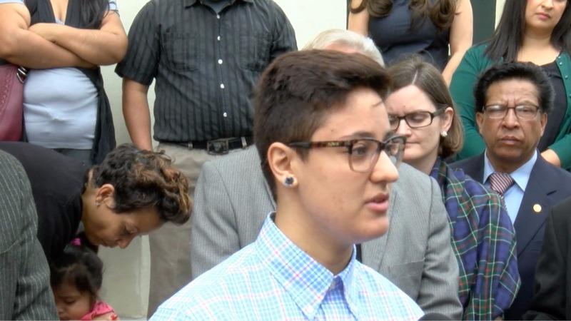 'Dreamer' faces deportation after speech