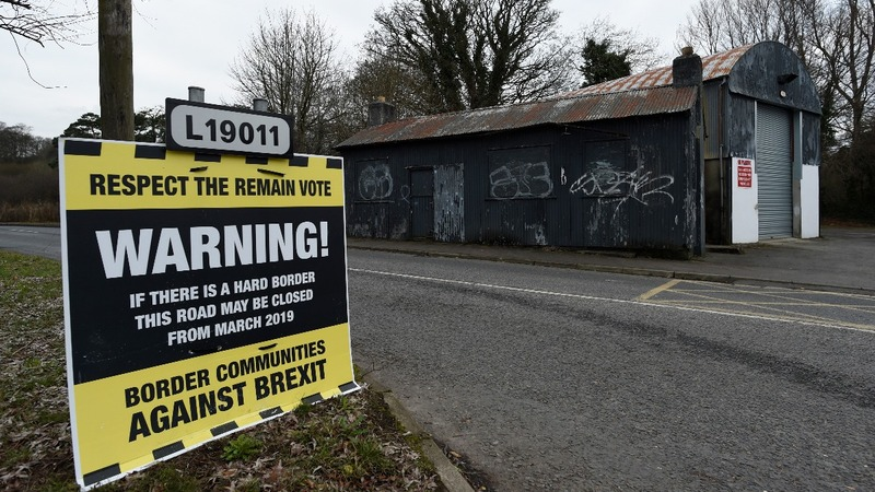 N.Irish borderlands fear post-Brexit customs