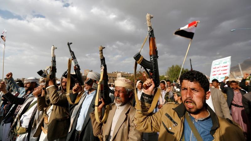 Yemenis protest Saudi-led bombing
