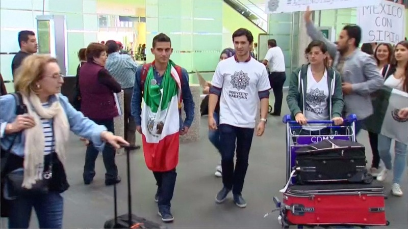 Syrian students finding refuge in Mexico
