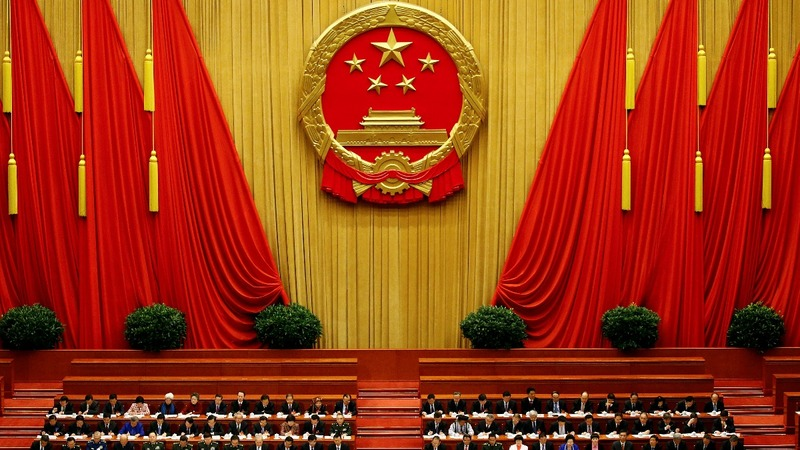 China to strengthen defences, no word on budget