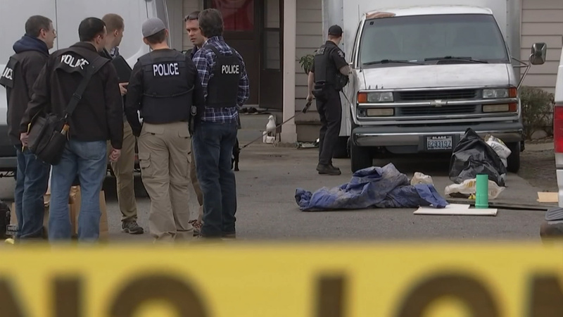 Shooter in Washington state 'hate crime' still at large