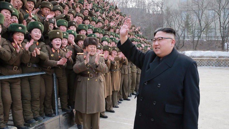 N. Korea fires four missiles into the sea near Japan
