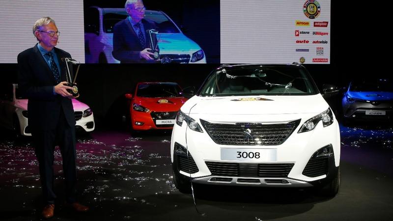 Peugeot 3008 crowned 'Car of the Year' in Geneva