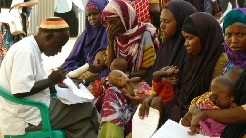 Somalia says drought kills 110 in 48 hours
