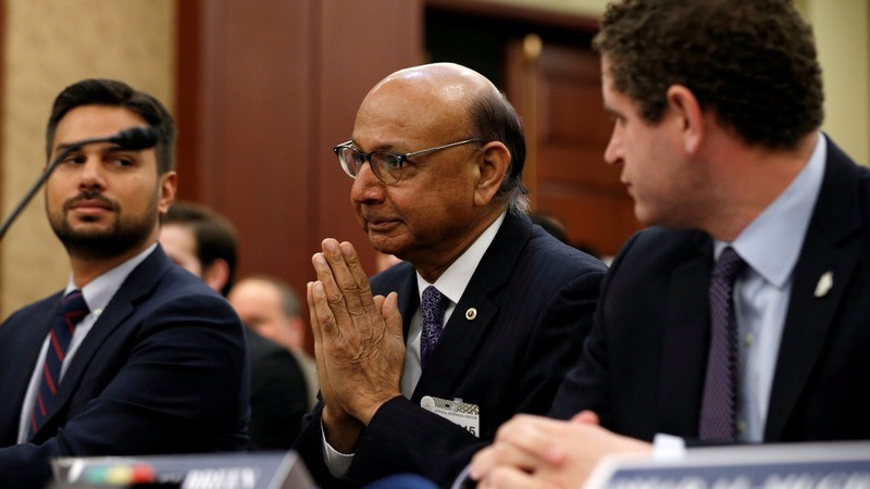 Khizr Khan says U.S. travel privileges 'under review'