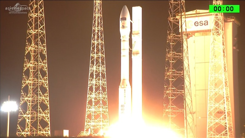 INSIGHT: Lift off for Europe's latest satellite