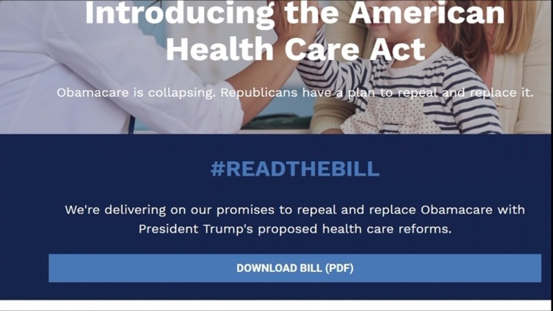 U.S. Republicans unveil plan to replace Obamacare