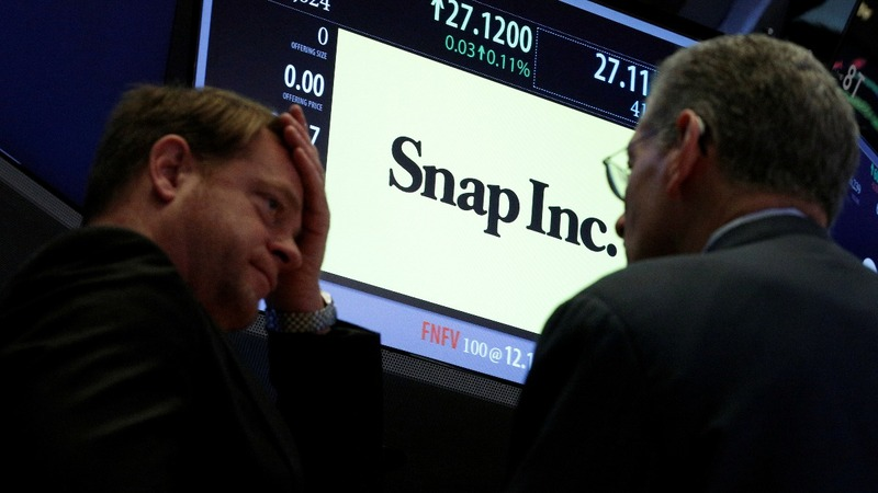 Snap shares brought back down to earth