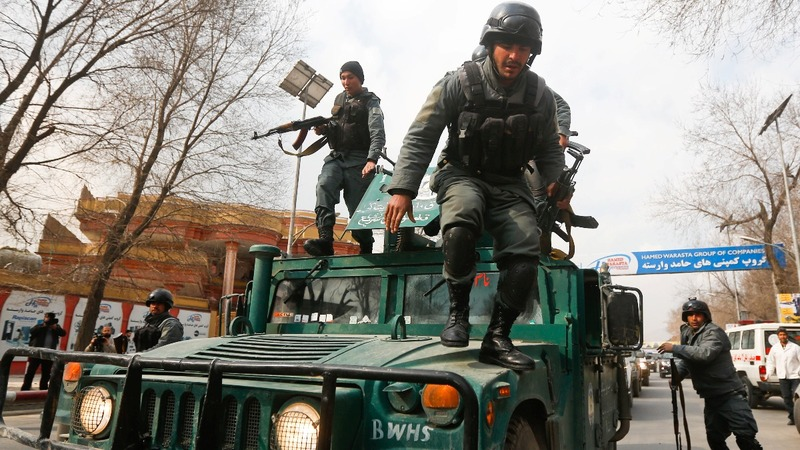 Gunmen dressed as medics kill over 30 in Kabul