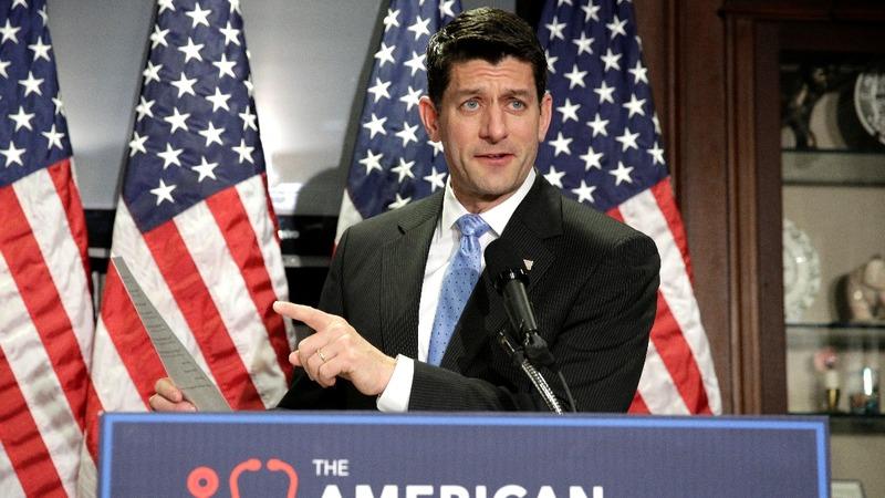 GOP pushes ahead despite revolt on healthcare