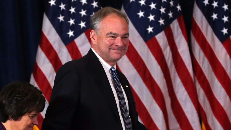 Tim Kaine's son arrested at anti-Trump protest