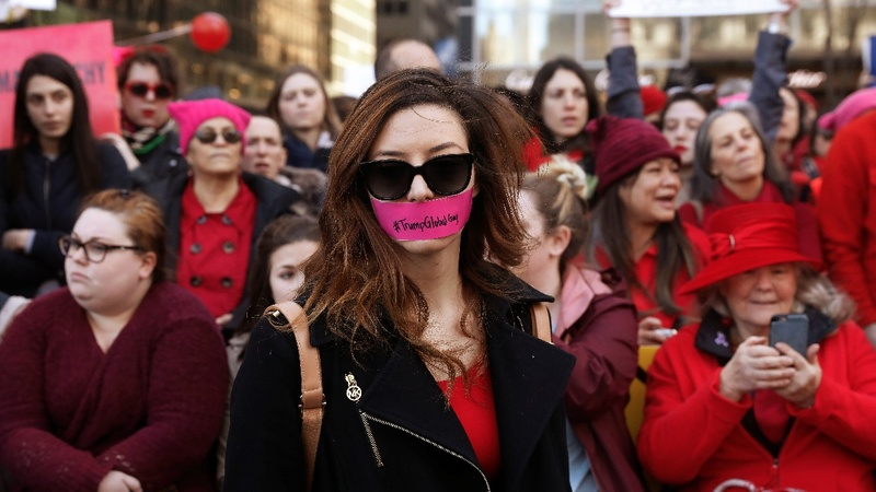 On Women's Day, defiance and solidarity
