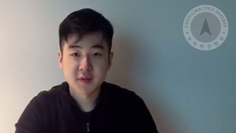 Murdered North Korean's son surfaces in video