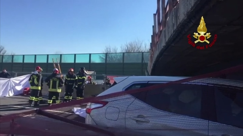 INSIGHT: Two people die in Italy bridge collapse