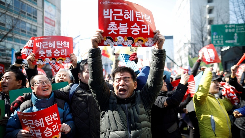 S. Korea's scandal-hit president thrown out of office
