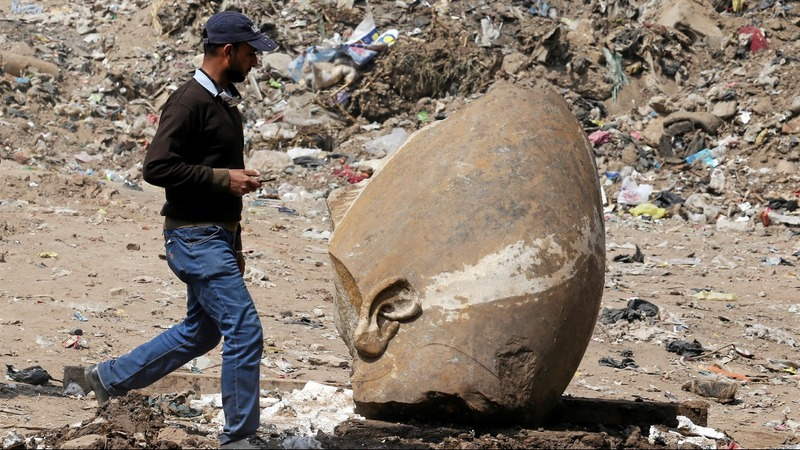 Cairo slum unveils Egypt's greatest Pharaoh