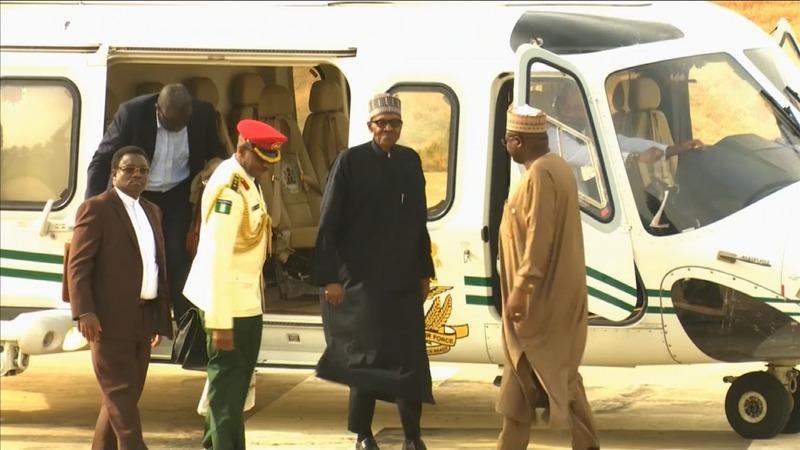 Nigeria's ailing President Buhari returns home
