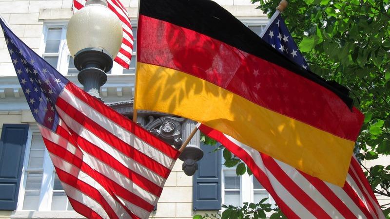 U.S., Germany at crossroads as Merkel visits Trump