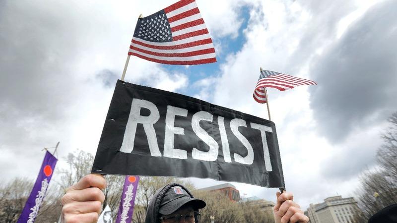 INSIGHT: Native American activists march on Washington