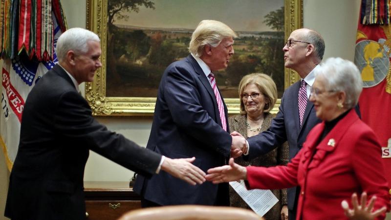 Trump tests dealmaker image in healthcare fight