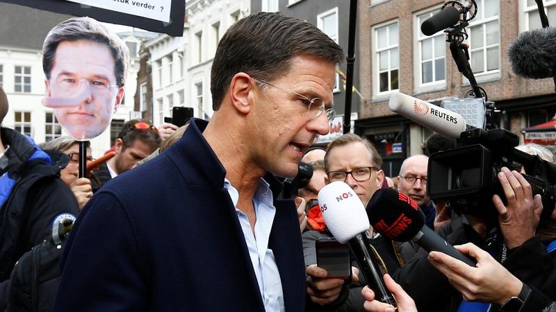 Dutch leader bars Turkish FM in rally row