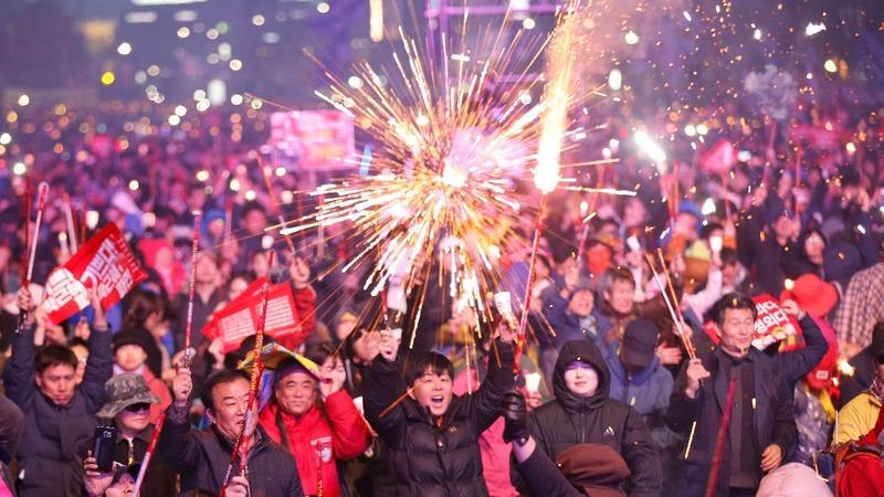 South Korea split over President's impeachment