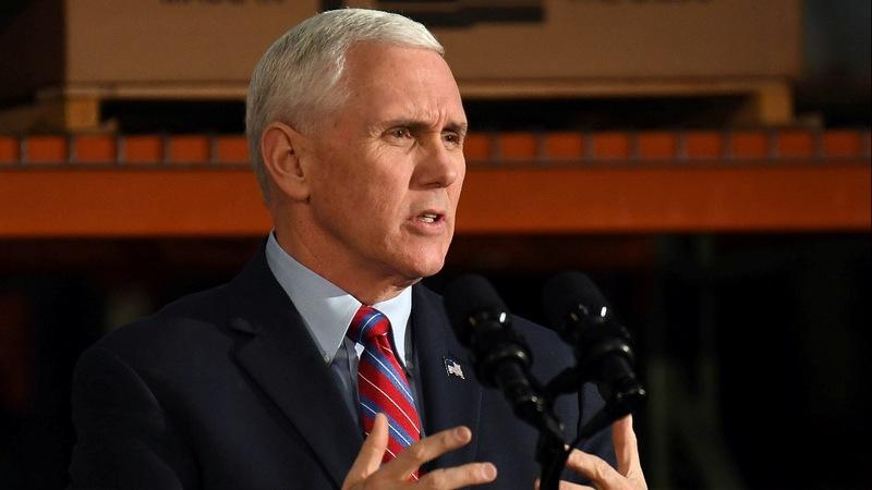 Pence takes healthcare plan to battleground Kentucky