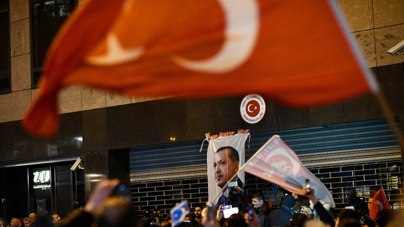 Turkey, Netherlands on high alert after protests