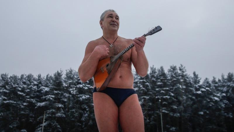 INSIGHT: Russia's bikini-clad ice-skating marathon