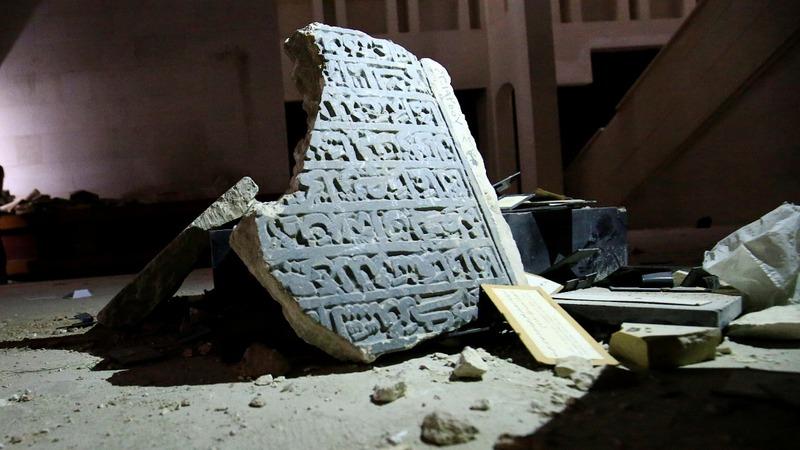 Mosul museum left in ruins