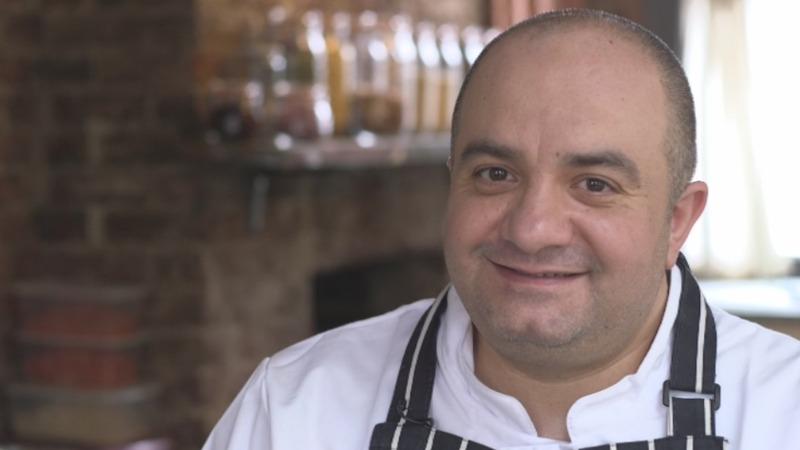 Syrian refugee chef cooks taste of home