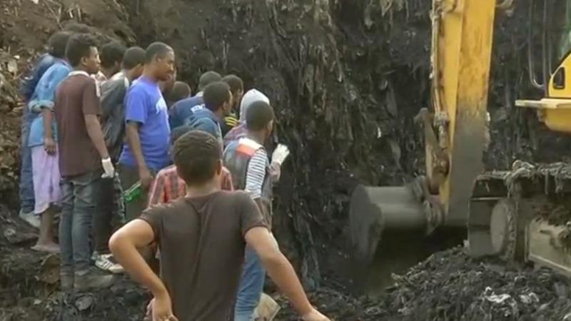 Garbage dump landslide kills dozens in Ethiopia
