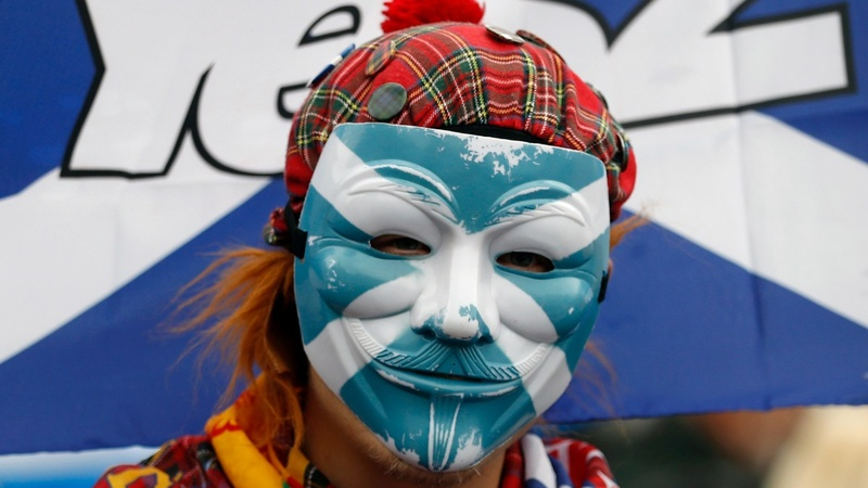 Scotland's leader demands new independence vote