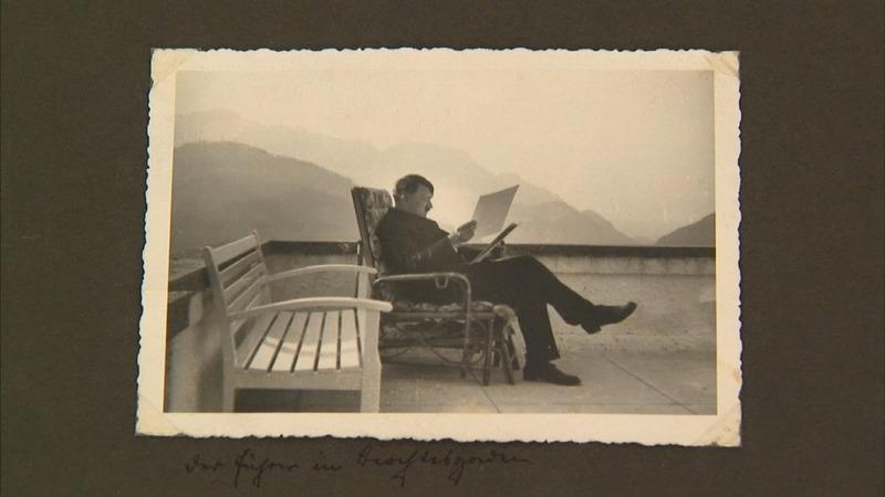 Eva Braun's Hitler photo album up for auction