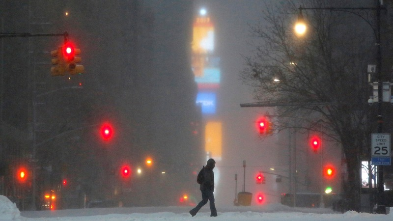 In pictures: Blizzards blanket the U.S. Northeast