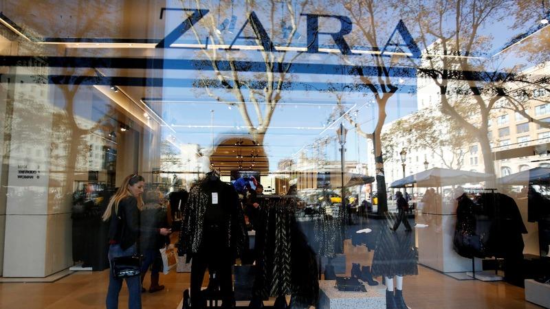 Zara-owner's sales climb despite pressure