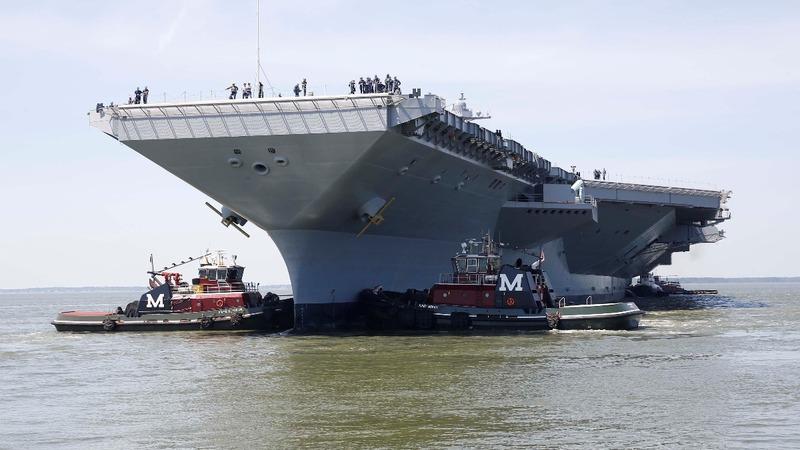 Trump's ambitious Navy build-up hits a snag
