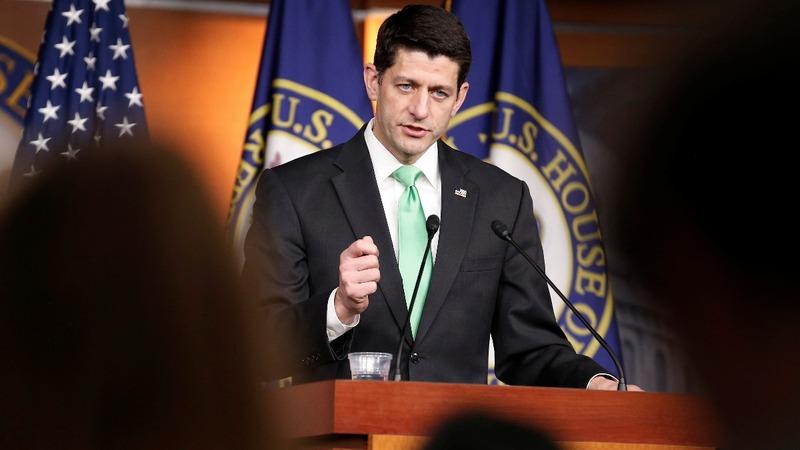 VERBATIM: Ryan praises Trump on healthcare push