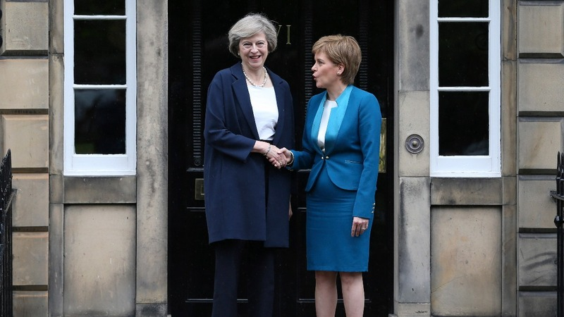 May to Scotland: not the time for referendum